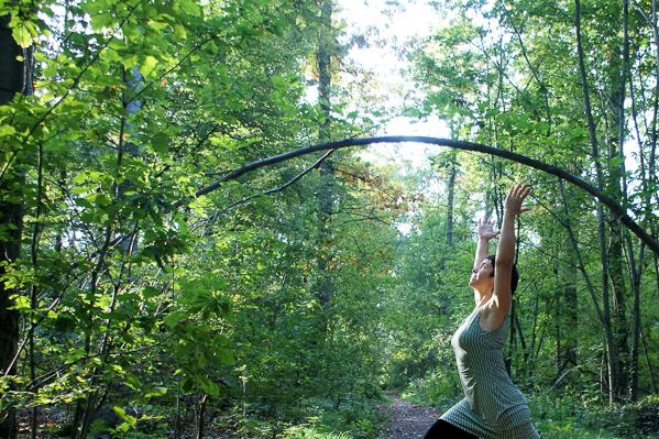 Stille Pause im Wald – Stephanie Köhler